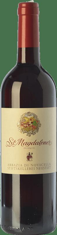 12,95 € Free Shipping | Red wine Abbazia di Novacella Santa Maddalena D.O.C. Alto Adige Trentino-Alto Adige Italy Schiava Bottle 75 cl
