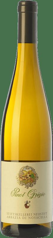 13,95 € Free Shipping | White wine Abbazia di Novacella D.O.C. Alto Adige Trentino-Alto Adige Italy Pinot Grey Bottle 75 cl