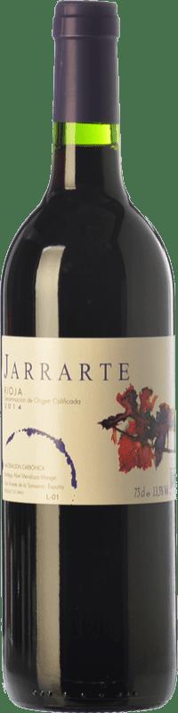 7,95 € Free Shipping | Red wine Abel Mendoza Jarrarte Joven D.O.Ca. Rioja The Rioja Spain Tempranillo Bottle 75 cl
