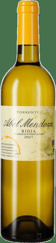 23,95 € Free Shipping | White wine Abel Mendoza Crianza D.O.Ca. Rioja The Rioja Spain Torrontés Bottle 75 cl