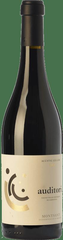 54,95 € Envío gratis | Vino tinto Acústic Auditori Crianza D.O. Montsant Cataluña España Garnacha Botella 75 cl