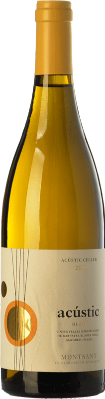 13,95 € | White wine Acústic Blanc Crianza D.O. Montsant Catalonia Spain Grenache White, Grenache Grey, Macabeo, Xarel·lo Bottle 75 cl