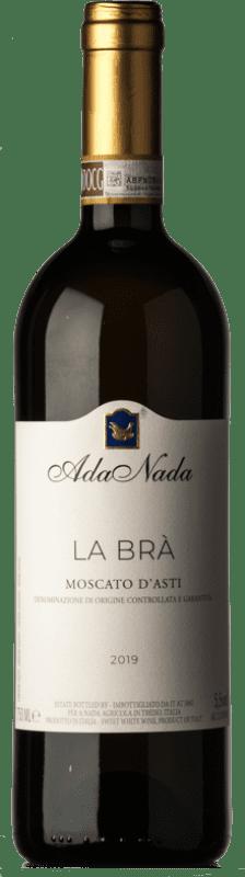 17,95 € Free Shipping | Sweet wine Ada Nada La Bra D.O.C.G. Moscato d'Asti Piemonte Italy Muscatel White Bottle 75 cl