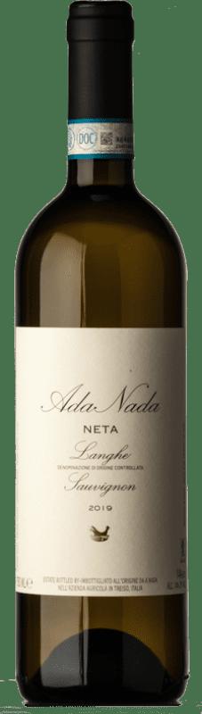 15,95 € Free Shipping | White wine Ada Nada Neta D.O.C. Langhe Piemonte Italy Sauvignon White Bottle 75 cl