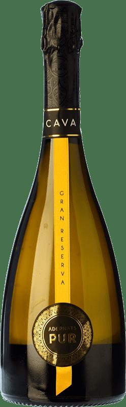 26,95 € | White sparkling Adernats Brut Gran Reserva D.O. Cava Catalonia Spain Macabeo, Xarel·lo, Parellada Bottle 75 cl