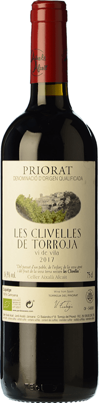 19,95 € Free Shipping | Red wine Aixalà Alcait Les Clivelles de Torroja Vi de Vila Crianza D.O.Ca. Priorat Catalonia Spain Carignan Bottle 75 cl