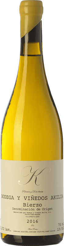 27,95 € Free Shipping | White wine Akilia K D.O. Bierzo Castilla y León Spain Palomino Fino, Doña Blanca Bottle 75 cl