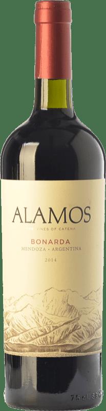 8,95 € Envío gratis | Vino tinto Alamos Joven I.G. Mendoza Mendoza Argentina Bonarda Botella 75 cl