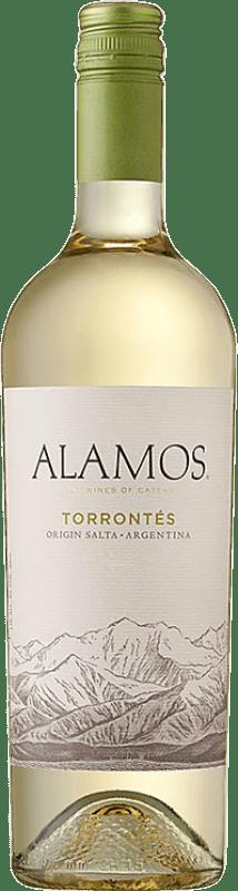 8,95 € Free Shipping | White wine Alamos I.G. Mendoza Mendoza Argentina Torrontés Bottle 75 cl