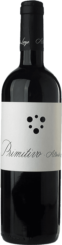 15,95 € Free Shipping | Red wine Alberto Longo I.G.T. Salento Campania Italy Primitivo Bottle 75 cl
