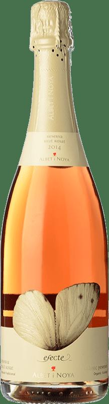 16,95 € Envío gratis | Espumoso blanco Albet i Noya Brut Reserva D.O. Penedès Cataluña España Pinot Negro Botella 75 cl