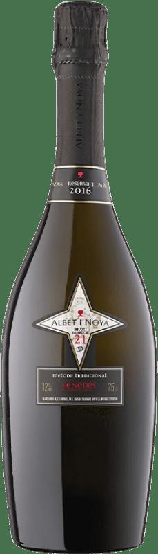 29,95 € | White sparkling Albet i Noya 21 Barrica Brut Reserva D.O. Penedès Catalonia Spain Pinot Black, Chardonnay Bottle 75 cl