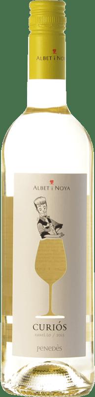 7,95 € 免费送货 | 白酒 Albet i Noya Curiós D.O. Penedès 加泰罗尼亚 西班牙 Xarel·lo 瓶子 75 cl