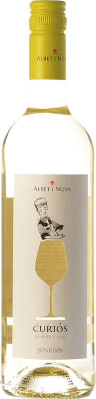 7,95 € Envío gratis | Vino blanco Albet i Noya Curiós D.O. Penedès Cataluña España Xarel·lo Botella 75 cl