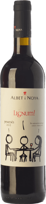 9,95 € 免费送货 | 红酒 Albet i Noya Lignum Negre Crianza D.O. Penedès 加泰罗尼亚 西班牙 Tempranillo, Merlot, Syrah, Grenache, Cabernet Sauvignon 瓶子 75 cl
