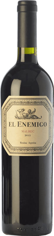 27,95 € Envío gratis | Vino tinto Aleanna El Enemigo Malbec Reserva I.G. Mendoza Mendoza Argentina Cabernet Franc, Malbec, Petit Verdot Botella 75 cl