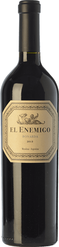 26,95 € Free Shipping | Red wine Aleanna El Enemigo Bonarda Crianza I.G. Mendoza Mendoza Argentina Cabernet Franc, Bonarda Bottle 75 cl