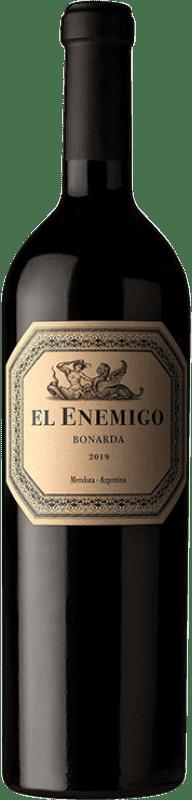 26,95 € Envío gratis | Vino tinto Aleanna El Enemigo Bonarda Crianza I.G. Mendoza Mendoza Argentina Cabernet Franc, Bonarda Botella 75 cl