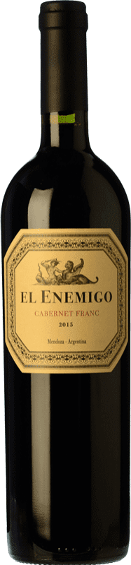 23,95 € 免费送货 | 红酒 Aleanna El Enemigo Cabernet Franc Crianza I.G. Mendoza 门多萨 阿根廷 Cabernet Franc, Malbec 瓶子 75 cl