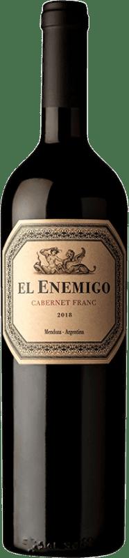 24,95 € Free Shipping | Red wine Aleanna El Enemigo Cabernet Franc Crianza I.G. Mendoza Mendoza Argentina Cabernet Franc, Malbec Bottle 75 cl