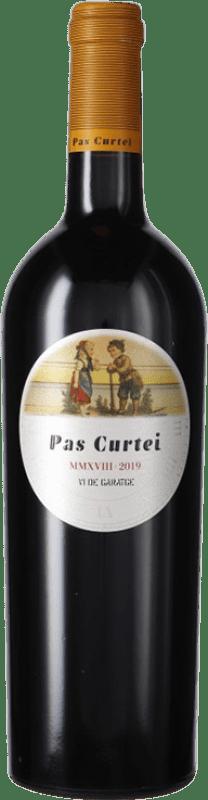 14,95 € 免费送货 | 红酒 Alemany i Corrió Pas Curtei Crianza D.O. Penedès 加泰罗尼亚 西班牙 Merlot, Cabernet Sauvignon, Carignan 瓶子 75 cl