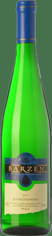 14,95 € | White wine Barzen Q.b.A. Mosel Rheinland-Pfälz Germany Gewürztraminer Bottle 75 cl