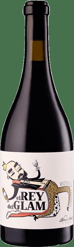 9,95 € 免费送货 | 红酒 Maestro Tejero El Rey del Glam Joven I.G.P. Vino de la Tierra de Castilla y León 卡斯蒂利亚莱昂 西班牙 Grenache 瓶子 75 cl