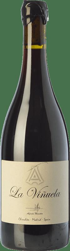 24,95 € Free Shipping | Red wine Maestro Tejero La Viñuela Crianza I.G.P. Vino de la Tierra de Castilla y León Castilla y León Spain Tempranillo, Grenache Bottle 75 cl