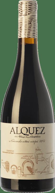 11,95 € 免费送货 | 红酒 Garapiteros Alquez Crianza D.O. Calatayud 阿拉贡 西班牙 Grenache 瓶子 75 cl