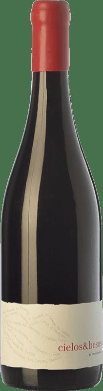 12,95 € Free Shipping | Red wine Almaroja Cielos & Besos Joven D.O. Arribes Castilla y León Spain Tempranillo, Rufete, Juan García Bottle 75 cl