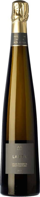 19,95 € 免费送货 | 白起泡酒 Alta Alella AA Mirgin Laietà Gran Reserva D.O. Cava 加泰罗尼亚 西班牙 Chardonnay 瓶子 75 cl