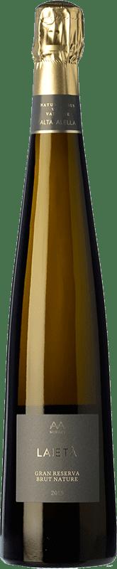 19,95 € | White sparkling Alta Alella AA Mirgin Laietà Gran Reserva D.O. Cava Catalonia Spain Chardonnay Bottle 75 cl