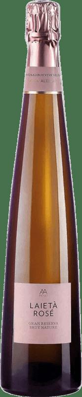 19,95 € | Rosé sparkling Alta Alella AA Mirgin Laietà Rosé Gran Reserva D.O. Cava Catalonia Spain Mataró Bottle 75 cl