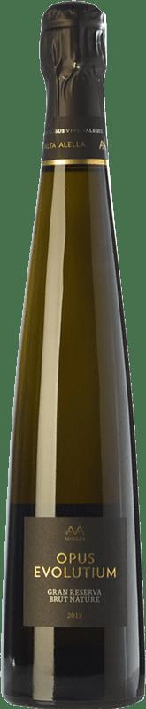 32,95 € | White sparkling Alta Alella AA Mirgin Opus Evolutium Gran Reserva D.O. Alella Catalonia Spain Pinot Black, Chardonnay Bottle 75 cl