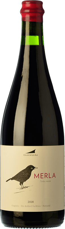 17,95 € 免费送货 | 红酒 Alta Alella AA Merla Natural Joven D.O. Alella 加泰罗尼亚 西班牙 Monastrell 瓶子 75 cl