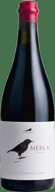 17,95 € | Red wine Alta Alella AA Merla Natural Joven D.O. Alella Catalonia Spain Monastrell Bottle 75 cl