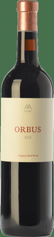 33,95 € 免费送货 | 红酒 Alta Alella AA Orbus Crianza D.O. Alella 加泰罗尼亚 西班牙 Syrah 瓶子 75 cl
