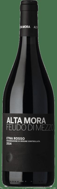 43,95 € | Red wine Alta Mora Rosso Feudo di Mezzo D.O.C. Etna Sicily Italy Nerello Mascalese Bottle 75 cl
