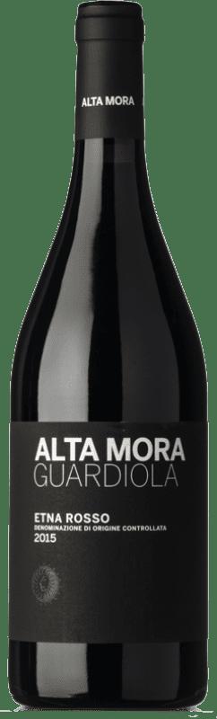 49,95 € | Red wine Alta Mora Rosso Guardiola D.O.C. Etna Sicily Italy Nerello Mascalese Bottle 75 cl