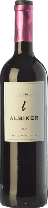 8,95 € Envoi gratuit | Vin rouge Altún Albiker Joven D.O.Ca. Rioja La Rioja Espagne Tempranillo, Viura Bouteille 75 cl