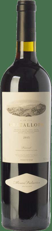117,95 € Envío gratis | Vino tinto Álvaro Palacios Gratallops Crianza D.O.Ca. Priorat Cataluña España Garnacha, Cariñena Botella Mágnum 1,5 L