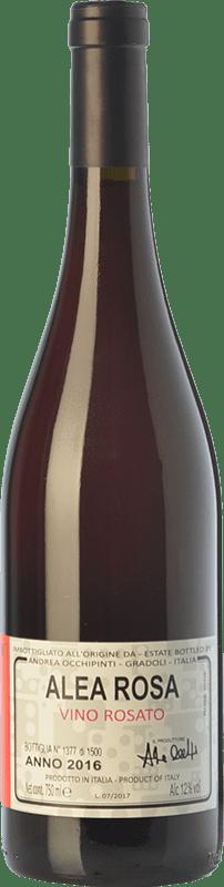 14,95 € Free Shipping | Rosé wine Andrea Occhipinti Alea Rosa I.G.T. Lazio Lazio Italy Aleatico Bottle 75 cl