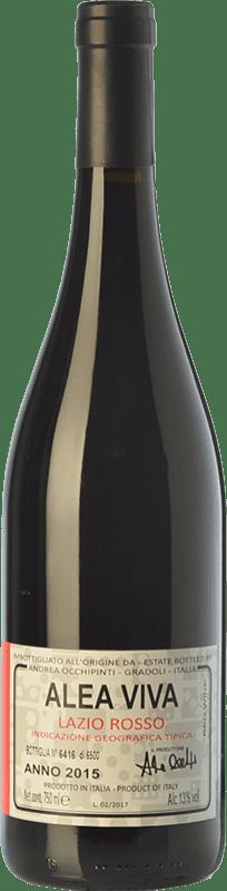 24,95 € Free Shipping | Red wine Andrea Occhipinti Alea Viva I.G.T. Lazio Lazio Italy Aleatico Bottle 75 cl