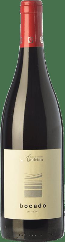 11,95 € Free Shipping | Red wine Andriano Bocado Vernatsch D.O.C. Alto Adige Trentino-Alto Adige Italy Schiava Bottle 75 cl