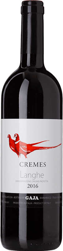 35,95 € Free Shipping | Red wine Gaja Cremes D.O.C. Langhe Piemonte Italy Pinot Black, Dolcetto Bottle 75 cl