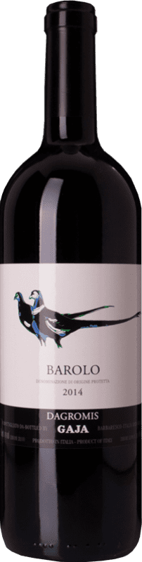 91,95 € Free Shipping | Red wine Gaja Dagromis D.O.C.G. Barolo Piemonte Italy Nebbiolo Bottle 75 cl