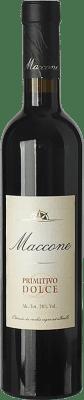 13,95 € Envío gratis | Vino dulce Angiuli Dolce Maccone I.G.T. Puglia Puglia Italia Primitivo Media Botella 50 cl