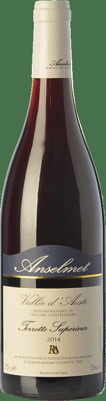 25,95 € Free Shipping | Red wine Anselmet Torrette Supérieur D.O.C. Valle d'Aosta Valle d'Aosta Italy Cornalin, Fumin, Petit Rouge Bottle 75 cl
