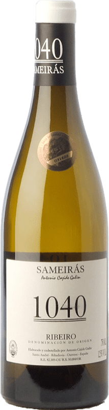 21,95 € Free Shipping | White wine Cajide Gulín Sameirás 1040 Crianza D.O. Ribeiro Galicia Spain Godello, Treixadura, Albariño, Lado Bottle 75 cl