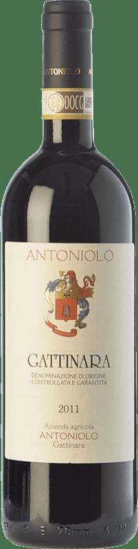 42,95 € Free Shipping | Red wine Antoniolo D.O.C.G. Gattinara Piemonte Italy Nebbiolo Bottle 75 cl